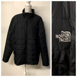 The North Face Black Quilted Men's HARWAY Jacket